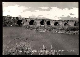 B5904 PORTO TORRES - PONTE COSTRUITO DAI ROMANI B/N - Altre Città