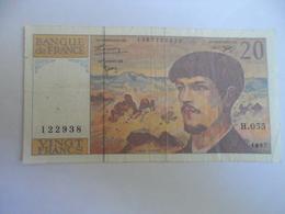 France : 20  Francs 1997 - 20 F 1980-1997 ''Debussy''