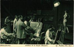 CPA PARIS 14e Montparnasse. Académie De La Grande Chaumiere (479408) - Arrondissement: 14