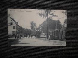 Merxem (Merksem)  :   Oude Barreel  -  Tramstatie  -  Tram - Antwerpen