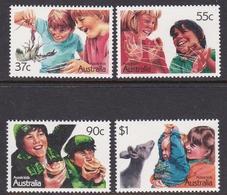 Australia ASC 1096-1099 1986 Kids, Mint Never Hinged - 1980-89 Elizabeth II