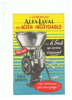 L'ECREMEUSE  ALFA - LAVAL EN ACIER INOXIDABLE - Advertising