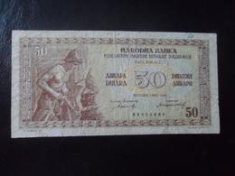 Yougoslavie: 50 Dinmza - Yugoslavia