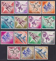 GUINEE N°  134 à 145, AERIENS N° 29 à 31 ** MNH Neufs Sans Charnière, TB (D7537) Sports Divers 1963 - Guinea (1958-...)