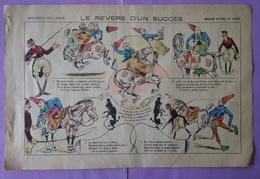 Image D Epinal Imagerie Pellerin Le Revers D Un Succes N° 4199 - Clowm Cirque - Old Paper