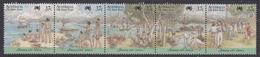 Australia ASC 1115-1119 1988 Australia Bicentennial X The First Fleet Arrival, Mint Never Hinged - 1980-89 Elizabeth II