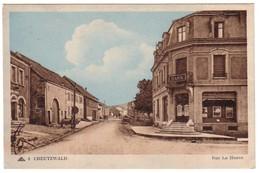 CREUTZWALD - Rue La Houve - La Banque. - Creutzwald