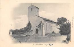 54 - MEURTHE ET MOSELLE / 547010 - Virecourt - L'église - - Vezelise