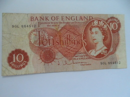 Royaume-Uni : 10 Schilings - 1952-… : Elizabeth II