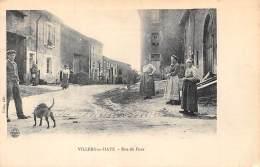 54 - MEURTHE ET MOSELLE / 547026 - Villers En Haye - Rue Du Four - Beau Cliché Animé - Vezelise