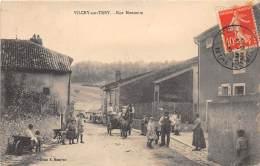 54 - MEURTHE ET MOSELLE / 547027 - Vilcey Sur Trey - Rue Montante - Beau Cliché Animé - Vezelise
