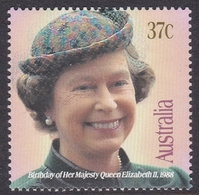 Australia ASC 1152 1988 Queen Elizabeth II Birthday, Mint Never Hinged - 1980-89 Elizabeth II