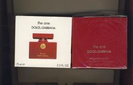 Parfum Dolce Gabbana THE ONE  75 ML BLISTER NEUF - Parfum (neuf Sous Emballage)