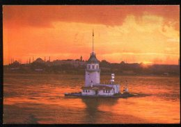 CPM Neuve Turquie ISTANBUL Gurup Vakti Kizkulesi Ve Istanbul - Türkei
