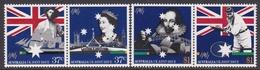Australia ASC 1155-1158 1988 Bicentennial Issue With United Kingdom, Mint Never Hinged - 1980-89 Elizabeth II