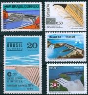 BRAZIL  -  DAMS AND RESERVOIRS  -   5v - Electricity
