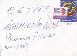 ENVELOPE CIRCULEE BUENOS AIRES-PRIVATE MAIL OCA CIRCA 2000s-ARGENTINE- BLEUP - Argentina