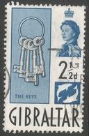 Gibraltar. 1960-62 QEII. 2½d Used. SG163 - Gibraltar