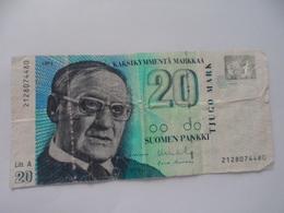Finlande :20 Mark - Finland