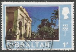 Gibraltar. 1971 Decimal Currency. 1p Used. (New). SG 258 - Gibraltar