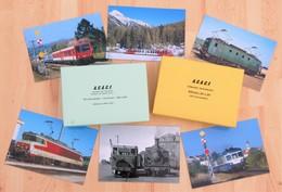 Lot De 204 Cartes Postales Ferroviaires ACACF - - Postcards