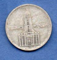 Allemagne -  2 Reichsmark  1934 D -  Km #81  -  état  TTB  - - 2 Reichsmark