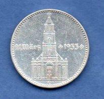 Allemagne -  2 Reichsmark  1934 E -  Km #81  -  état  TTB - 2 Reichsmark