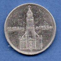 Allemagne -  5 Reichsmark  1934 A -  Km # 82  -  état  TB+ - [ 4] 1933-1945 : Third Reich