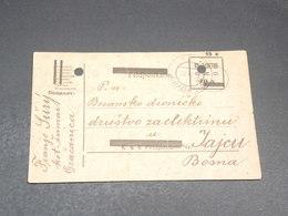 BOSNIE HERZEGOVINE - Entier Postal En 1919 Pour Jajcu - L 19661 - Bosnie-Herzegovine