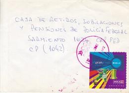 ENVELOPE CIRCULEE BUENOS AIRES-PRIVATE MAIL OCA YEAR 2006-ARGENTINE- BLEUP - Argentine