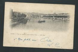 Lyon Vue Sur La Saone Prise Du Pont Tilsit   - Zbd07 - Other