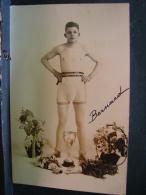 CP. 2877. Ancienne Photo CP D'un  Jeune Boxeur - Boxing