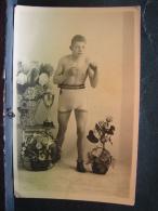 CP. 2876. Ancienne Photo CP D'un  Jeune Boxeur - Boxing