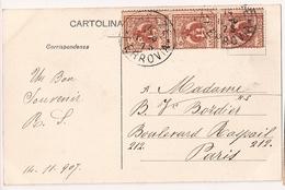 Italia, Postal Antigua, 14 11 1907, FIRENZE - 1900-44 Victor Emmanuel III