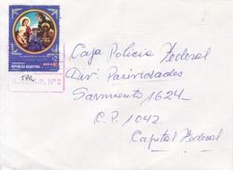 ENVELOPE CIRCULEE BUENOS AIRES-PRIVATE MAIL OCA CIRCA 2000's-ARGENTINE- BLEUP - Argentina