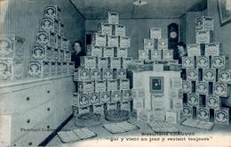PONT-DE-VEYLE - Biscuiterie CHAUVOT Biscuit Cpa Tardive Bleutée - AIN  01290  Dos Vert  Cpa Ecrite Au Dos - France