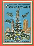 RADUNO NAZIONALE - VERONA - 1982  - AEREI - Meetings