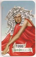 Calendario De Bolsillo, 1998, Centro Óptico Del Norte - Tamaño Pequeño : 1991-00