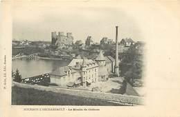 -dpts Div.-ref-AB96- Allier - Bourbon L Archambault - Moulin A Eau Du Chateau - Moulins A Eau - Carte Bon Etat - - Bourbon L'Archambault