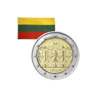 2 Euros Commémorative Lituanie 100 Ans Fête De La Chanson Et De La Danse 2018 - Lituania