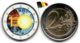 Belgique - 2 €uro 2013 - (100 Années De L'IRM - Colorée) - Belgium