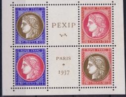 "France : Yv 348 - 351 Postfrisch/neuf Sans Charniere /MNH/**  1937 Pexip   ""le Central"" - Ungebraucht"