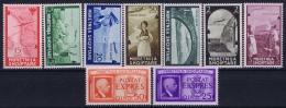 Italian Occupation Of Albania: Sa 5 - 11 + Esp 1 + 2   Mi 313 - 321 Postfrisch/neuf Sans Charniere /MNH/** - Albania