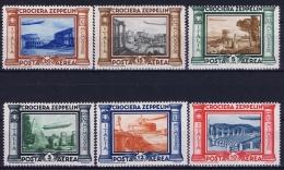 Italy Sa  A45 - A50  Mi 439 - 444 Postfrisch/neuf Sans Charniere /MNH/** Zepplin - 1900-44 Victor Emmanuel III