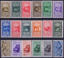 Italy  Sa  303 -314 +A26 - A31  Mi 373 - 390 Postfrisch/neuf Sans Charniere /MNH/** 1932 Dante - 1900-44 Victor Emmanuel III
