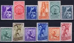 Italy  Sa 410 - 415 A100 - A105 Mi 564 - 575 Postfrisch/neuf Sans Charniere /MNH/** 1937 PART SET - 1900-44 Victor Emmanuel III