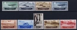 Italy  Sa  A74 - A82 Mi 505 - 513 Postfrisch/neuf Sans Charniere /MNH/** 1934 - 1900-44 Victor Emmanuel III