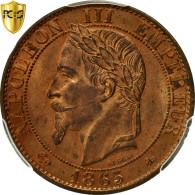 Monnaie, France, Napoleon III, 5 Centimes, 1865, Paris, PCGS MS63RB - C. 5 Centimes