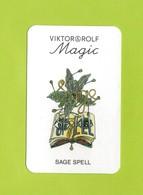 Cartes Parfumées  Cartes  SAGE SPELL  De VIKTOR&ROLF  ATTENTION TRACES AU VERSO PHOTO 2 - Cartes Parfumées