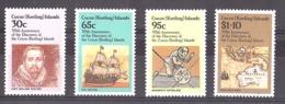 Cocos (Keeling) Islands - 1984 - N° 116 à 119 - Neufs ** - 375 Ans Découverte Des Iles Cocos - Cocos (Keeling) Islands